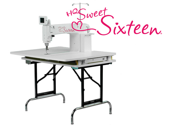 Handi Quilter Canada 🍁 HQ Sweet Sixteen Table Adorable Hq Sweet 16 Sewing Machine